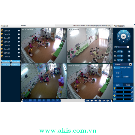 Giai pháp Camera cho Trường học